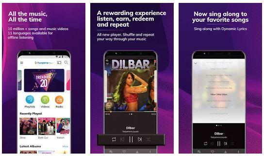 Hungama Music App in India