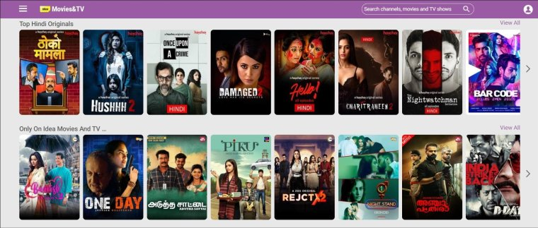 Get Free Zee5 Premium with Idea Movies and TV