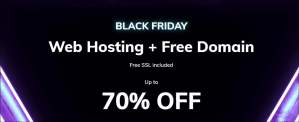 Hostinger Black Friday Sale Offer