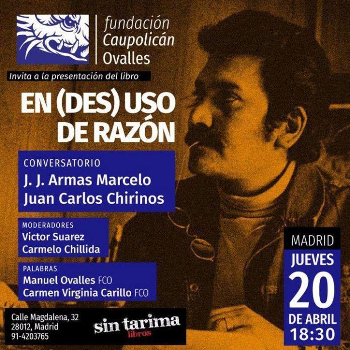 Presentación libro Caupolican Ovalles Madrid