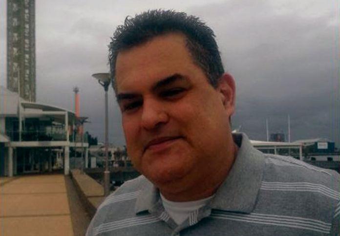 Alejandro Rejón en Queen's Wharf, Newclastle, Australia.