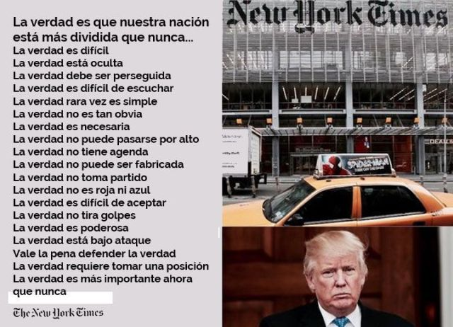 La Verdad, según The New York Times