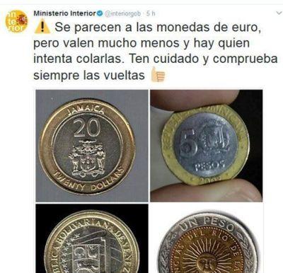 Policía advierte fraude bolívares euros