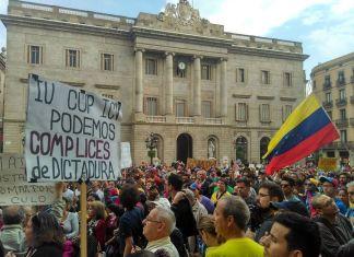Venezuela protesta mundial - Barcelona