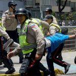 Detenidos, gaseados, golpeados