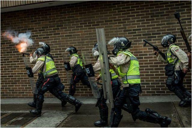 Los colectivos que defienden a Maduro