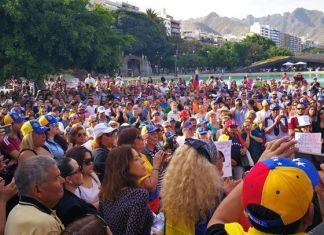 Venezuela protesta mundial - España