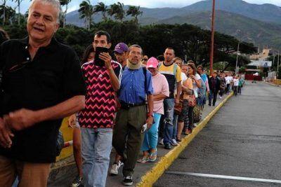 Colombia: La inmigración de venezolanos