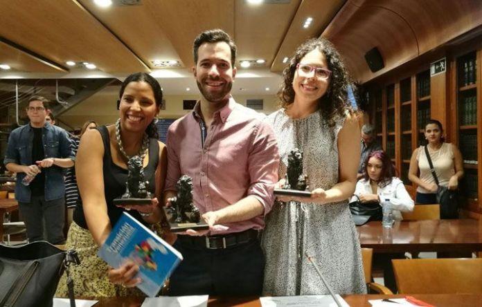 """David Placer, primer premio del II Concurso de relatos """"Miguel Otero Silva"""""""