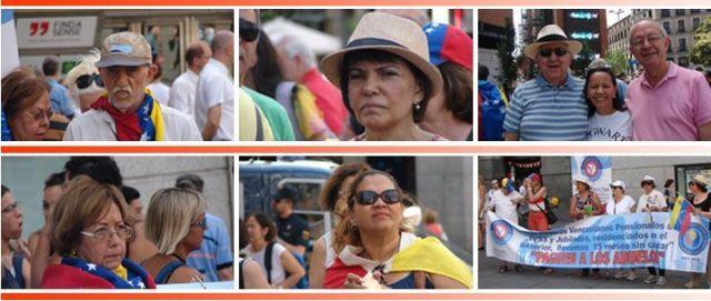 Banco de Alimentos de Madrid auxilia a pensionados venezolanos