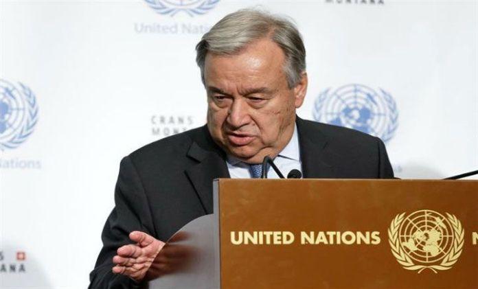 Guterres (ONU) ve urgente una concertación gobierno-oposición en Venezuela