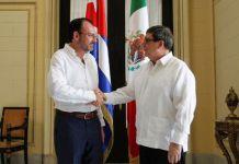México busca en Cuba asegurar transición en Venezuela