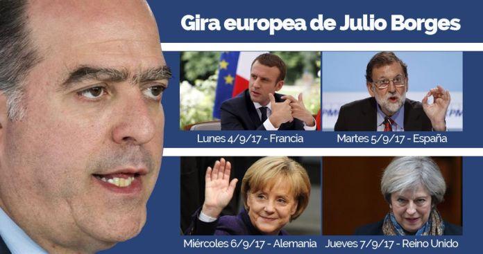 Gira europea de Julio Borges