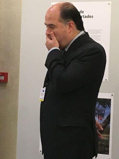 Peripecias de Borges, Ledezma y Tajani en el Premio Sájarov 2017