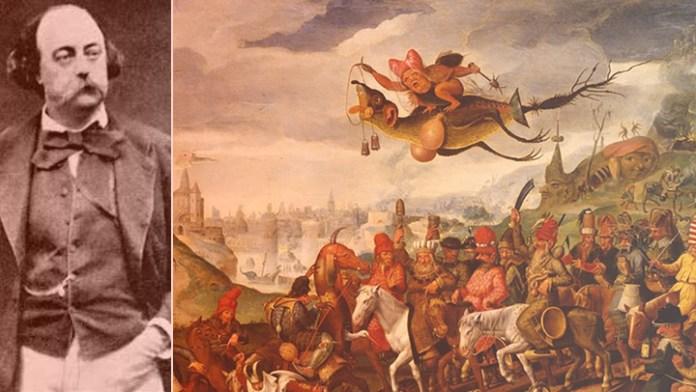 Gustave Flaubert asombrado en Génova