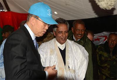 A tomar el té con el polisario Ahmed Boukhari