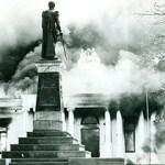 Incendio, gobernación de Sucre, 1999