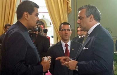 Jesús Silva, el último embajador de España en Venezuela