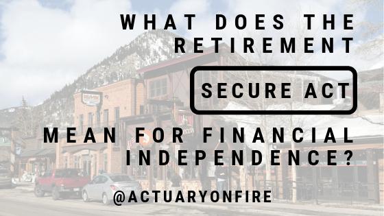 Retirement SECURE Act