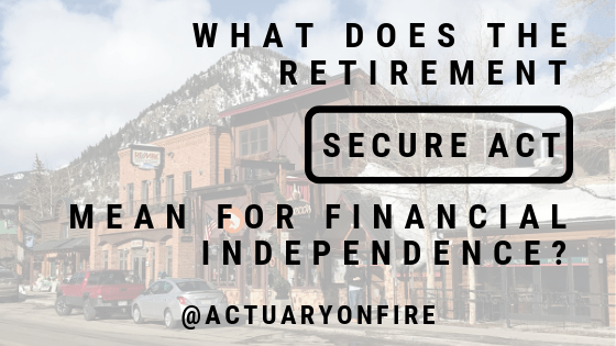 Retirement SECURE Act