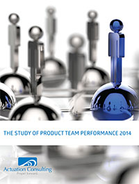 Actuation Consulting, Take Charge Product Management, The Study of Product Team Performance