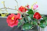 ikebana lorraine - roseau noir - 15