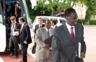 Dakar; le premier voyage de Michel Kafando