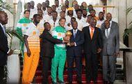 Alassane Ouattara offre 2 milliards de FCFA aux Éléphants vainqueurs de la CAN 2015