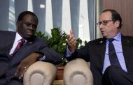 Visite du président de transition burkinabè Michel Kafando en France