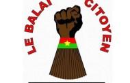 ATTAQUE DJIHADISTE AU BURKINA: Le Mouvement Balai citoyen invite la population à rester mobilisée