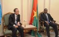 NATION: Ban Ki Moon est dans nos murs