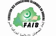 LIBERTES RELIGIEUSES : la FAIB demande le retrait du projet de loi