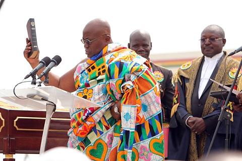 GHANA : le nouveau président Nana Akufo-Addo critiqué pour une affaire de plagiat