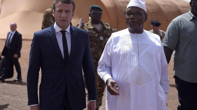 MALI : Emmanuel Macron est  à Gao