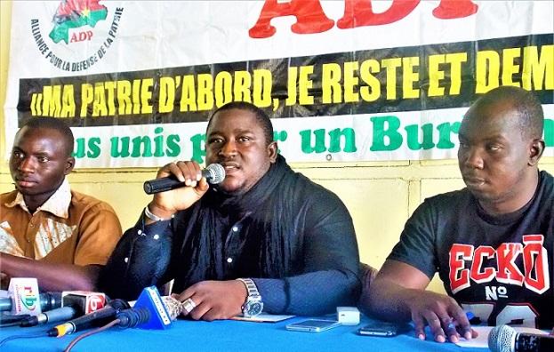 Abraham Badolo, président de l'ADP: « Nous sommes fatigués de voir à chaque fois Simon Compaoré aller décorer nos frères à titre posthume »