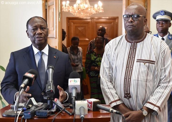 CRISE AU TOGO : Talon,  Kaboré, Akufo-Addo, Ouattara et  Issoufou désignés médiateurs