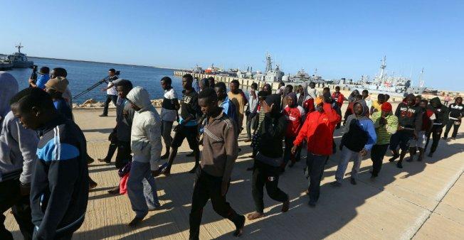 ESCLAVAGE EN LIBYE:  des opérations d'évacuations  de migrants annoncées