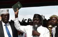 KENYA: l'opposant Raïla Odinga a prêté serment