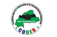 RECONCILIATION NATIONALE: Voici l'intégralité du mémorandum  de la CODER remis au président du Faso