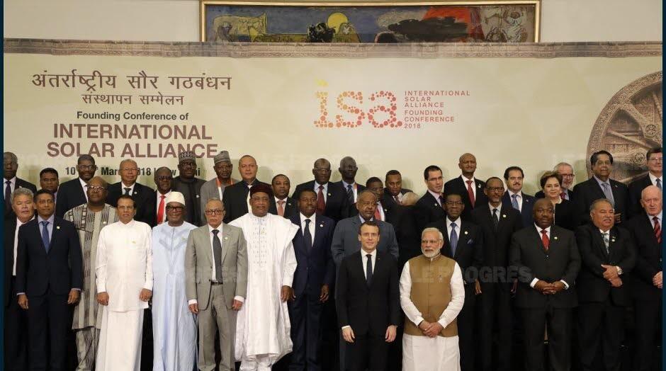 SOMMET DE L'ALLIANCE SOLAIRE INTERNATIONALE : le président du Faso engage le Burkina à l'Agenda solaire de New Delhi