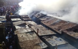 GUINEE : le plus grand marché du pays ravagé par les flammes