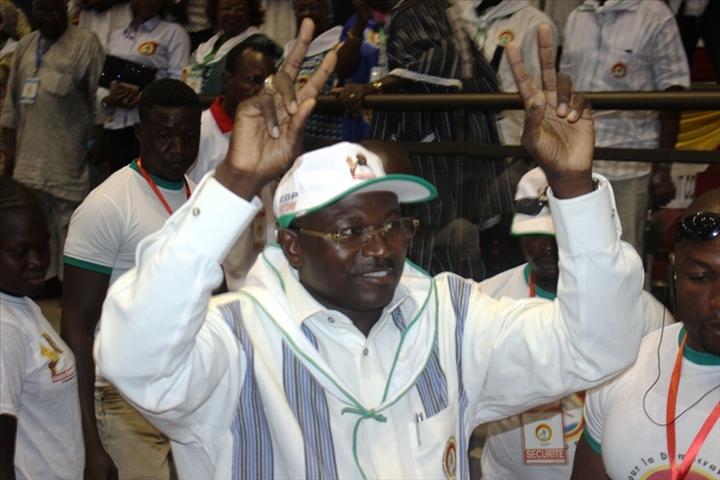 CDP : Eddie Komboigo réélu  à la tête du  parti pour 3 ans