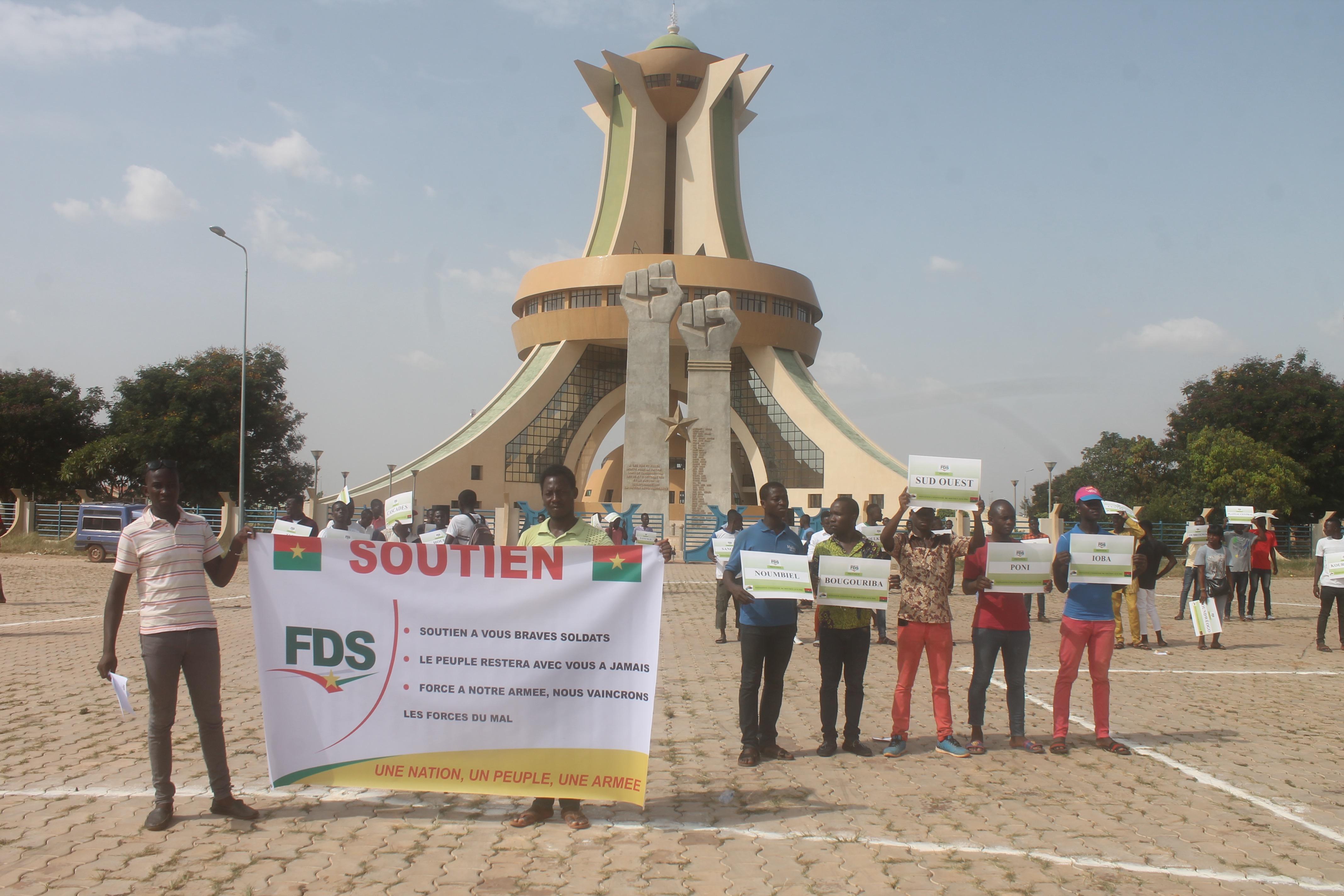 ATTAQUES AU BURKINA : l'association ICS-FDS apporte son soutien aux FDS