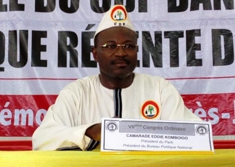 EDDIE KOMBOIGO, président du CDP: