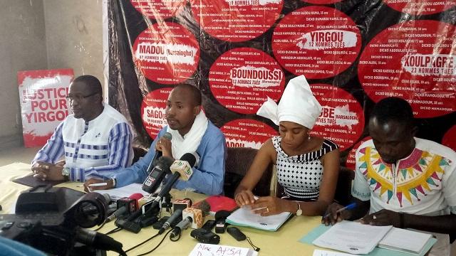 CONFLITS COMMUNAUTAIRES A ARBINDA: plus de 100 morts, selon le Collectif contre la stigmatisation des communautés