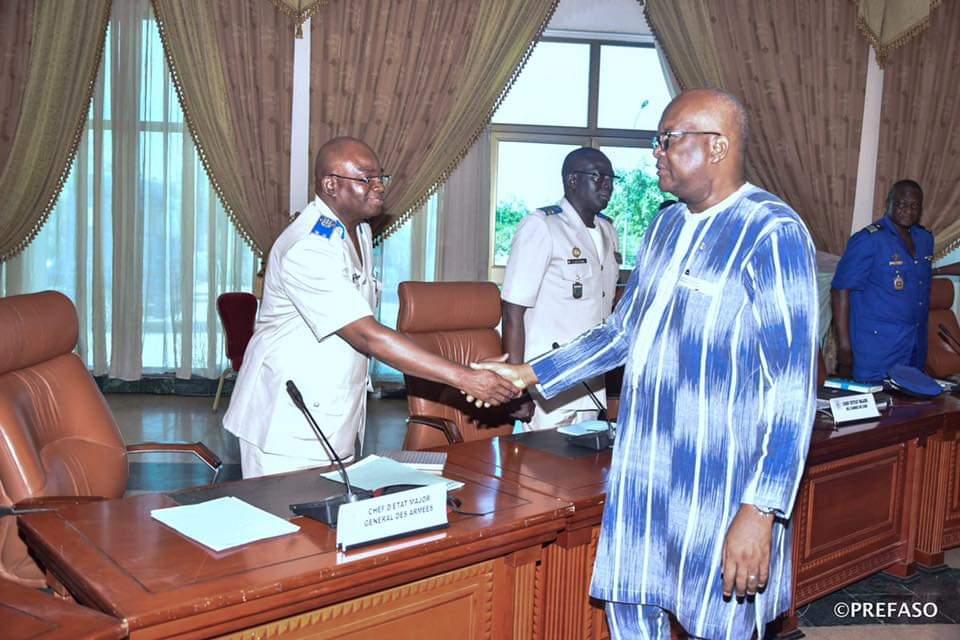 SITUATION SECURITAIRE: le président du Faso donne de nouvelles orientations au Conseil supérieur de la défense nationale