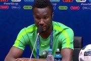 Football: John Obi Mikel met un terme à sa carrière internationale