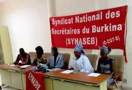 BURKINA: les secrétaires en grève à partir du 3 septembre