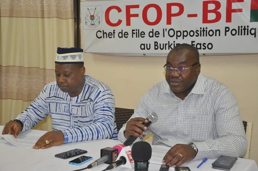REPRESSION DE LA MARCHE-MEETING DU 16 SEPTEMBRE: «Le MPP mène lui-même quotidiennement des activités politiques au Burkina et hors du Burkina, malgré l'insécurité» (CFOP)