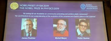 PRIX NOBEL DE PHYSIQUE 2019: un Canado-américain et deux Suisses lauréats